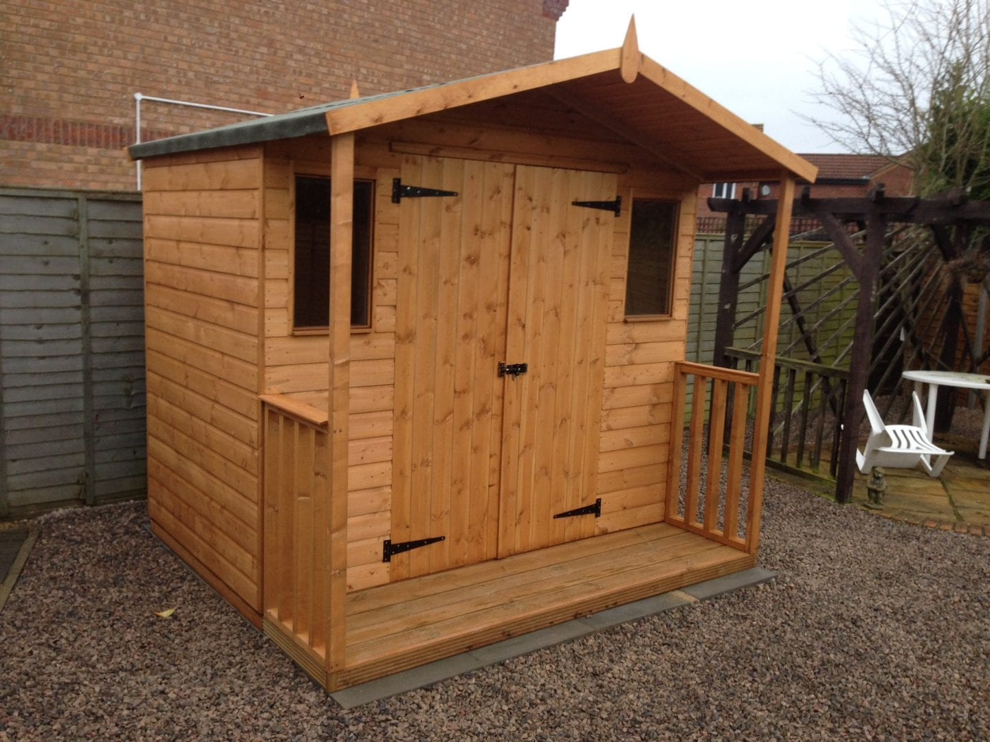 8x5 garden shed master sheds for Garden shed 8x5