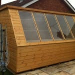 large bespoke potting shed gloucester