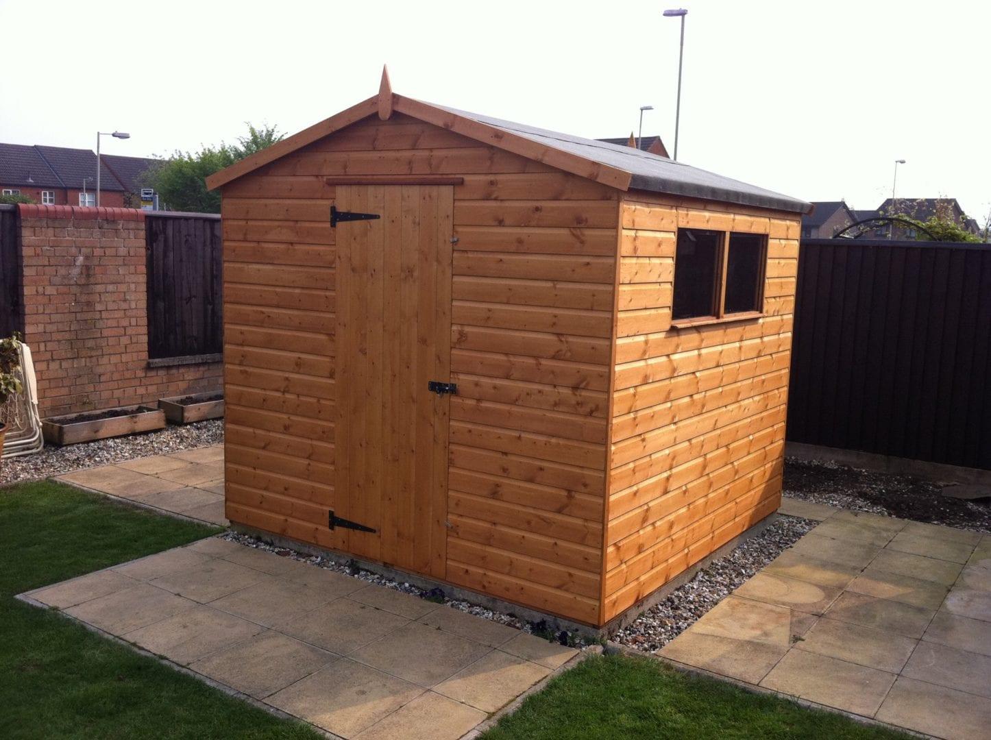 Garden Sheds Gloucester garden shed - master sheds