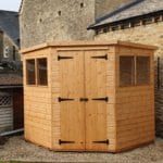 Corner shed gloucester